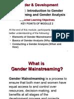 Gender Analysis Ppt1