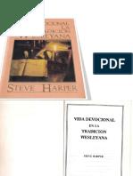 Vida Devocional en La Tradicion Wesleyana - Steve Harper