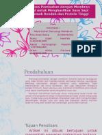 PPT Teknologi membran