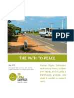 The Path to Peace Final
