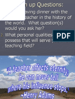 Classroom Teaching Tips