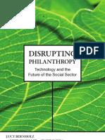 Disrupting Philanthropy FINAL