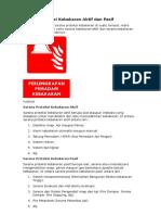 Sarana Proteksi Kebakaran Aktif Dan Pasif