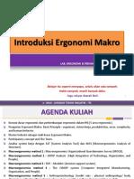 # 1 - Overview Makro Ergonomi