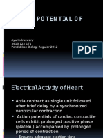 Action Potential of Heart -Ayu