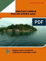 Kecamatan Lasolo Dalam Angka 2015