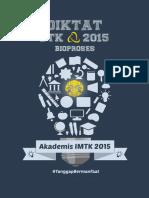Diktat Teknologi Bioproses Semester 3