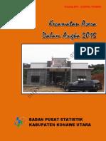 Kecamatan Asera Dalam Angka 2015