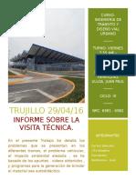 1- Carátula de Ing de Tránsito Vial - Visita Técnica