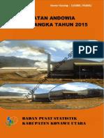 Kecamatan Andowia Dalam Angka 2015