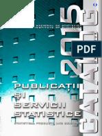 Catalogul Publicatiilor INS-2015