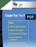 Chapter 05 - Pore Pressure
