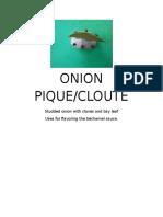 Onion Pique