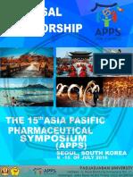 Proposal Sponsorship APPS 2016 not finish yet