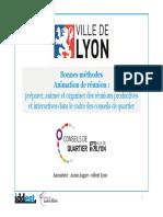 Bonnes Méthodes - Animation de Réunion