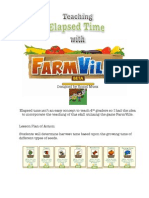 Teaching Elapsed Time with Farmville