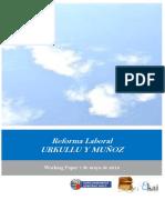 Reforma Laboral. URKULLU Y MUÑOZ