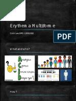 31 - Erythema Multiforme - Colin
