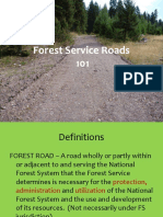 Forest Service Roads 101