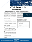 Site Reports for Engineers Update 051112