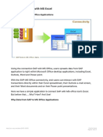 SAP Connectivity With MS Excel SCN