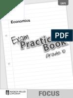 Focus Economics Grade 10 Exam Practice Book