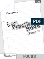 Focus Economics Grade 10 Exam Practice Book