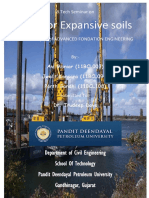 Piles for Expansive Soil-Report