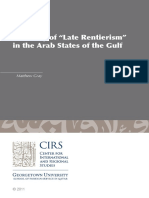 """A Theory of """"Late Rentierism"""""""