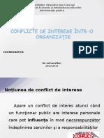 Conflicte de Interese