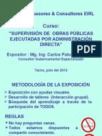 Supervision Obrasxad (2012)