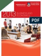 Business & Economics Program Information Leaflet