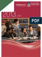 Law Program Information Leaflet