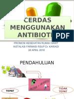 Cerdas Menggunakan Antibiotik-2
