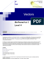 Vectors and Scalars