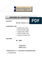 227510936 Lab n 2 Movimiento Unidimensional