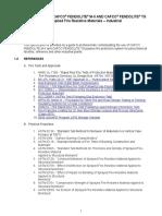 Cafco Fendolite M-II and Cafco Fendolite Tg Industrial Guide Spec