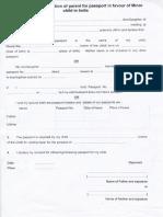 Sworn Affidavit Form [22899]