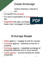 Brokerage Practice