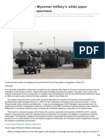 Asia.nikkei.com-Maung Aung Myoe Myanmar Militarys White Paper Highlights Growing Openness