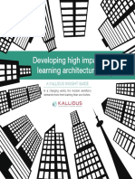 Kallidus Insight Guide Learning Architecture