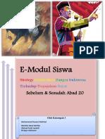 Modul Strategi perlawanan Bangsa Indonesia terhadap bangsa barat