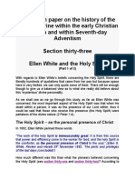 Ellen White and the Holy Spirit Section Thirty-three