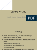 Global Pricing