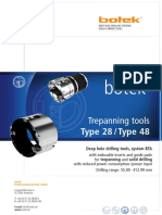 botek deep hole drilling catalogue