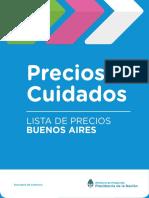 Precios Cuidados de mayo (Buenos Aires)