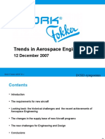 Trends in Aerospace Engineering