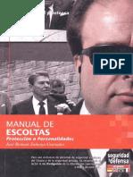 Manual de Escoltas Proteccion a Personalidades