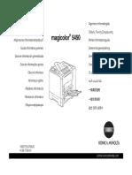 Konica Minolta magicolor 5450 Guide