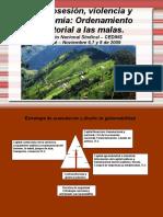 Desposesión de tierra en colombia